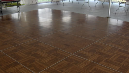 Ebb tide tent party rentals tables chairs dance floors for Temporary flooring for renters